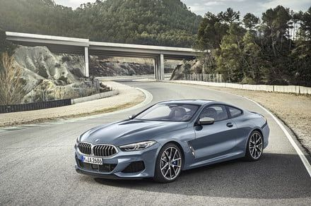 Here's our first look at the 2018 BMW 8-Series in full production guise