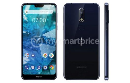 Nokia 7.1 Plus unofficially debuts in leaked render