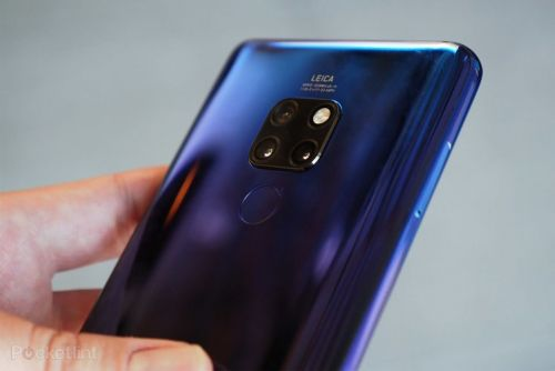 Huawei Mate 30 leaks with waterfall screen in real life images