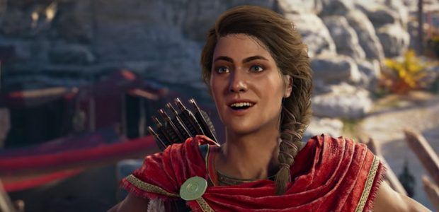 Kassandra is Assassin's Creed Odyssey's main hero, but only in the book
