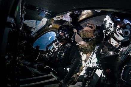 Space tourism company Virgin Galactic sends passenger into space for first time