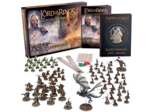 BATTLE OF PELENNOR FIELDS is the Bombastic Relaunch of the Lord of the Rings Miniatures Game