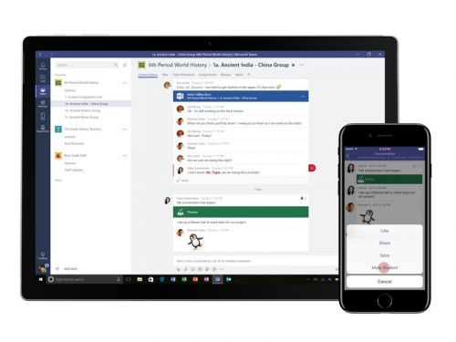Microsoft Teams gets new tools for the classroom