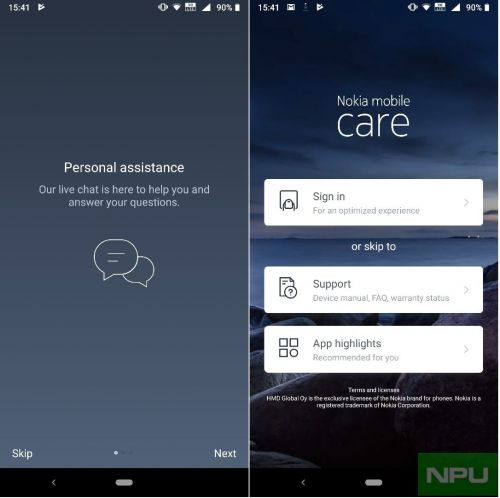 Nokia mobile support app updated with new access to the new community and more