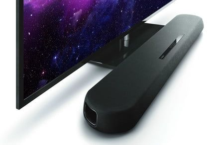 Yamaha's new YAS-108 soundbar has a slim footprint, beefy 3D sound