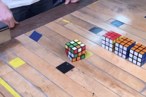 Self-solving Rubik's Cube could just be a really smart poltergeist