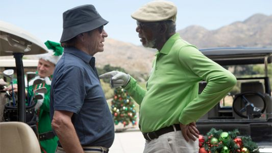 Tommy Lee Jones Butts Heads With Morgan Freeman in JUST GETTING STARTED Trailer