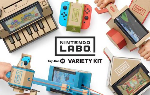Replacement Parts for Nintendo Labo Won't Cost You an Arm and a Leg After All