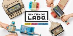 Nintendo Labo lets you create cardboard contraptions with your Switch