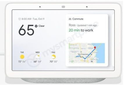 Images of Google Home Hub leak ahead of company's October hardware event