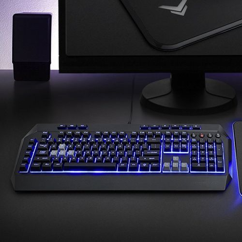 Get your hands on this discounted AmazonBasics Gaming Keyboard for $15