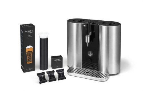 LG HomeBrew capsule-based system to make beer lovers' dreams come true