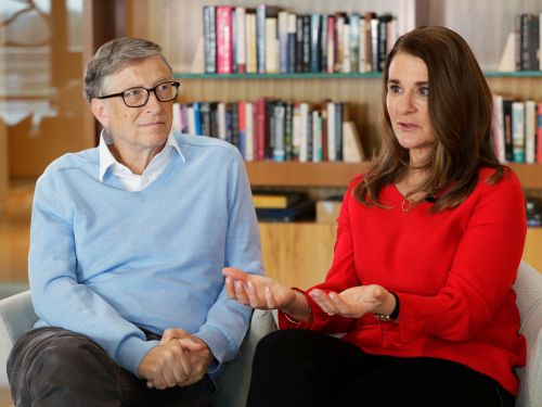 Bill and Melinda Gates share the one global problem they'd each fix if they had a magic wand