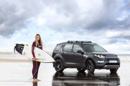 See how Jaguar Land Rover turned scrap plastic into a surfboard