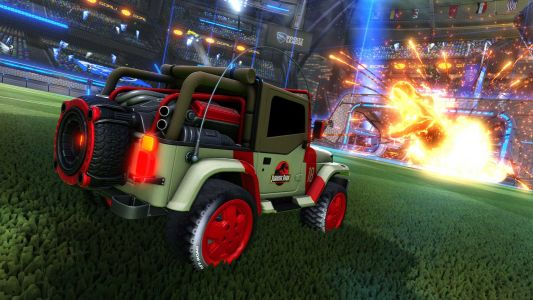 'Rocket League's' next add-on is a 'Jurassic World' crossover