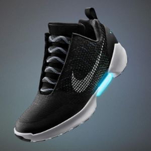 Nike teases self-lacing shoes you can control from your phone