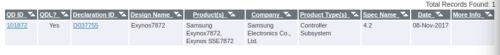Entry-Level Exynos 7872 SoC Gets Certified By Bluetooth SIG