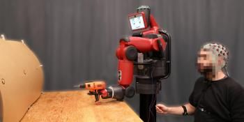 New System Enables Robot Control Using Brainwaves and Hand Gestures