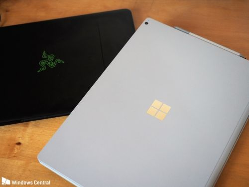 Surface Book 2 15-inch vs. Razer Blade 14 (2017): Battle of the Windows laptop titans
