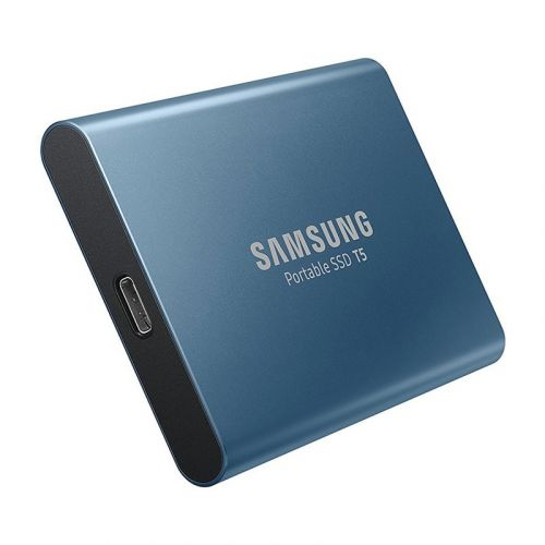 Samsung's 500GB T5 portable solid state drive is down to $100 today