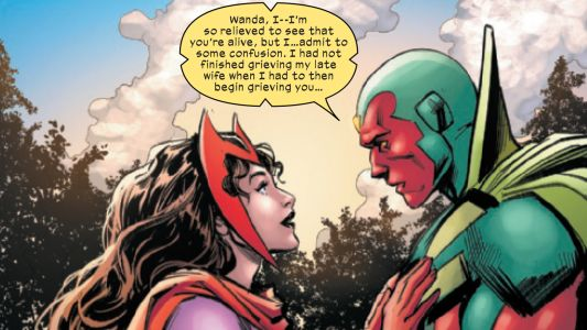 Scarlet Witch is back from the dead - and thinks she's still married to the Vision - in X-Men: Trial of Magneto 3 preview