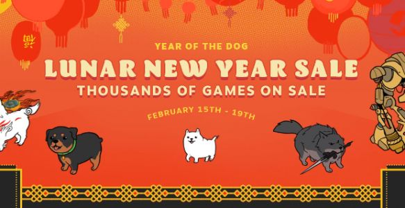 Ring in the Lunar New Year with Steam's latest sale