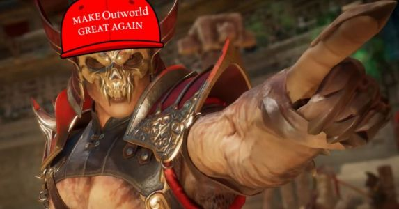 Mortal Kombat 11 sneaks in some jabs at President Trump