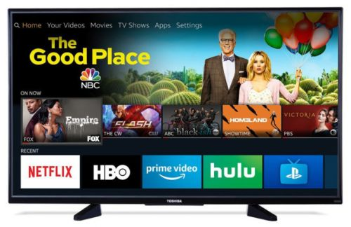 Toshiba's 4K TVs with built-in Fire TV are on sale again, with prices starting at just $299.99