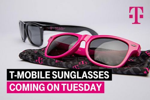Next week's T-Mobile Tuesday gifts will include T-Mo sunglasses