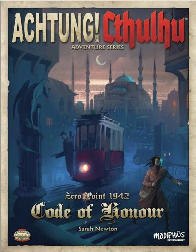Achtung! Cthulhu - Zero Point - Code of Honour Savage Worlds Edition Available Now