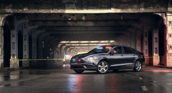 Ford made a super-stealthy plug-in hybrid cop car