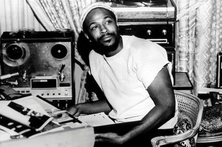 What's going on? Dr. Dre is working on a Marvin Gaye movie, that's what