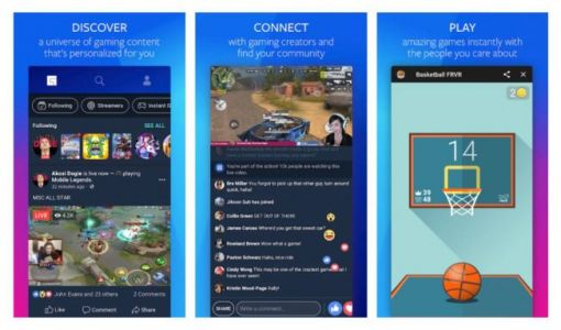 Facebook rolls out a dedicated game streaming app