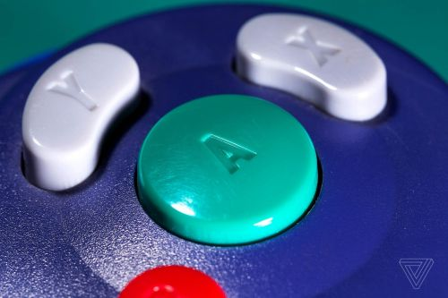 The GameCube controller's A button subtly taught us how to play