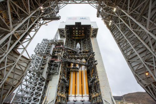 Stay up late to watch ULA launch a secret satellite with its most powerful rocket