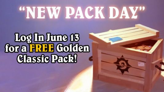How to get a free pack of golden 'Hearthstone' cards right now
