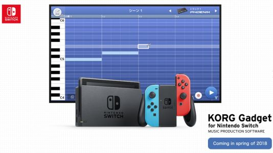 Korg's Gadget music production app is coming to Nintendo Switch