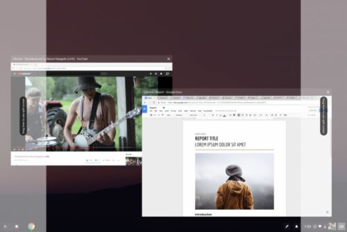 Chromebook split-screen now working with Android apps in Canary channel