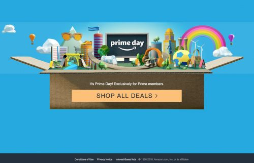 It's not just you: Amazon's site crashed just as Prime Day begins