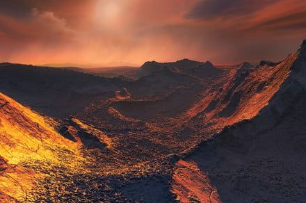 'Super-Earth' planet candidate discovered orbiting Barnard's Star