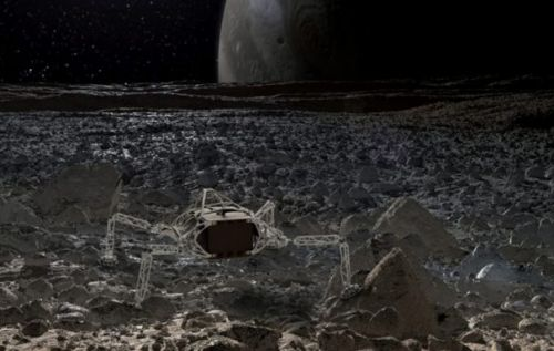 Autodesk and NASA use AI to design spider-like interplanetary lander