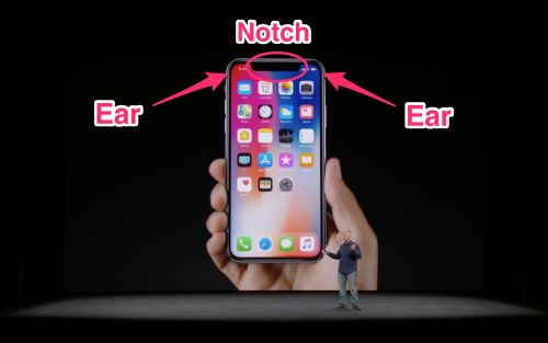 The new iPhone X looks stunning, except for that hideous notch at the top of the phone