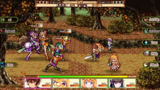 Chroma Quaternion is the latest JRPG from Kemco and it's available now for iOS and Android