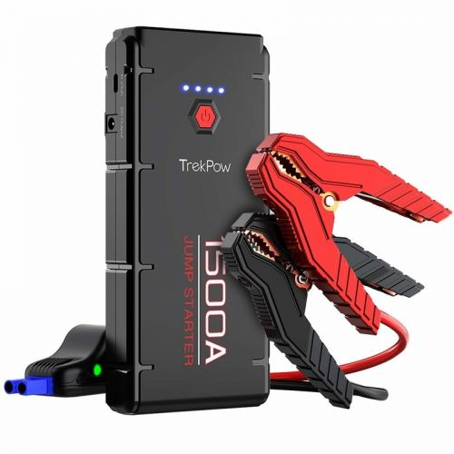 Never get stranded in an emergency with 30% off Trekpow's Car Jump Starter