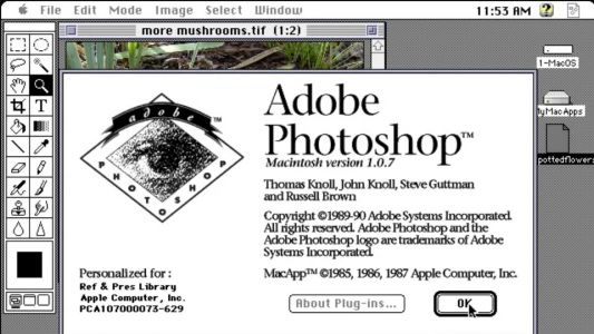 Online museum tracks Photoshop's design history