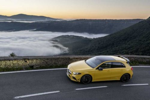 Mercedes-AMG A 35 4MATIC has a track data logger and 306hp