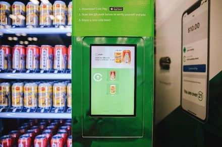 Age-verification tech could usher in vending machines for beer and weed