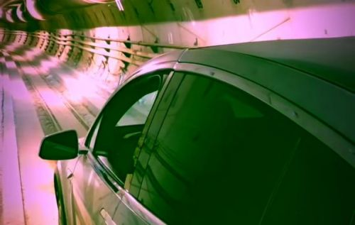 Boring Company shoots Model X through a tunnel