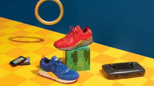 Get Yourself a Pair of Puma's Sonic the Hedgehog Sneakers on June 5