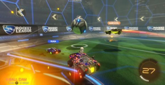 Rocket League's Tournaments beta test kicked off today